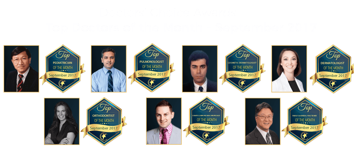 Doctors' Choice Awards, Star of  the Month